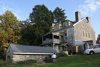 Fox Chase Farm - Image: Fox Chase Farm Manor House 03
