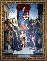 Francesco Raibolini detto il Francia, Madonna in trono con santi, 1490 circa.jpg