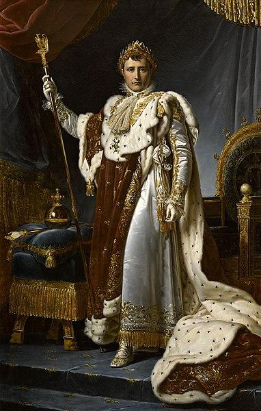 Napoléon - Sacre - Empereur - France - Costume impérial - Pouvoir - SchoolMouv - Histoire - CM1