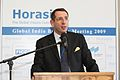 Frank-Jürgen Richter, President, Horasis, welcoming participants, at the Horasis Global India Business Meeting 2009 - Flickr - Horasis.jpg