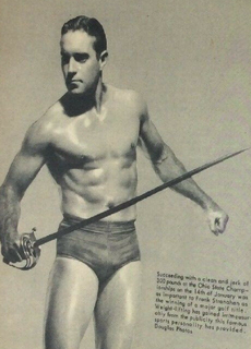 Frank Stranahan American golfer and powerlifter