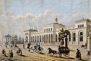 Frankfurt Taunusbahnhof 1850