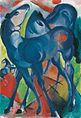 Franz Marc, Die blauen Fohlen, 1913.jpg