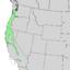 Fraxinus latifolia range map 3.png