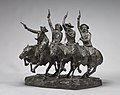 Frederic Remington, Off the Range (Coming Through the Rye), model 1902, cast 1903, NGA 166488.jpg