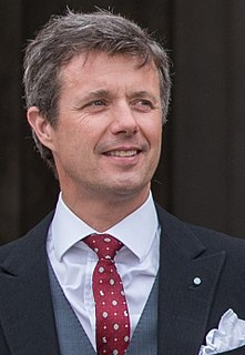 Frederik, Crown Prince of Denmark heir apparent to the throne of Denmark
