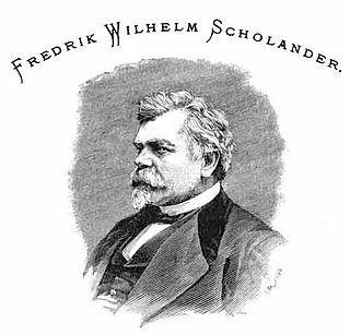 Fredrik Wilhelm Scholander Swedish architect and painter (1816-1881)