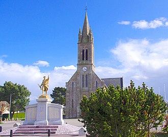 Fréhel, Côtes-d'Armor - The church of Fréhel
