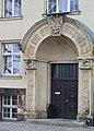 Freiberg, Portal zum Institut Brennhausgasse 14.JPG