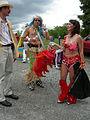 Fremont Solstice Parade 2007 - samba dancers 08.jpg