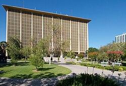 La Fresno County-juĝejo en junio 2007
