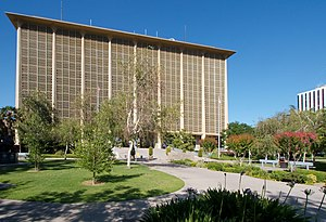 Fresno County Courthouse, Fresno, California, USA