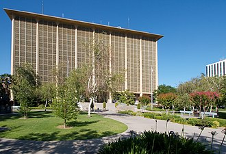 Fresno County, California - The Fresno County courthouse in June 2007