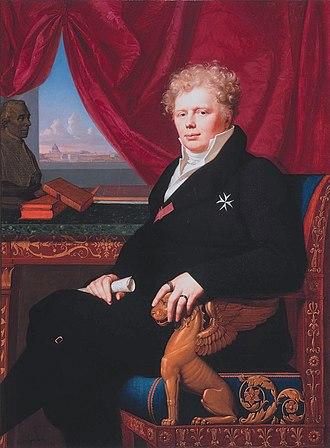Frederick IV, Duke of Saxe-Gotha-Altenburg - Image: Friedrich IV von Sachsen Gotha, by Carl Christian Vogel von Vogelstein