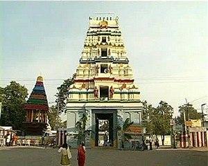 Amaralingeswara Temple - Galigopuram of Amaralingeswara temple