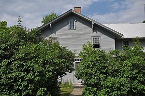 National Register of Historic Places listings in Oxford County, Maine - Image: Fryeburg ME Barrows Steadman House