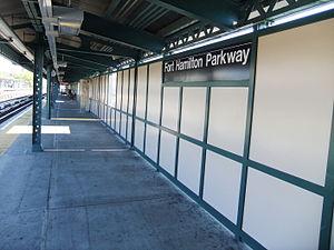 Fort Hamilton Parkway (BMT West End Line) - Image: Ft Hamilton Pkwy (BMT West End Line)