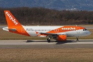 Airbus A319 - An EasyJet A319
