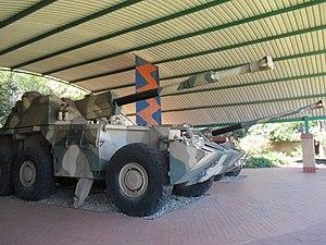 G6 howitzer - Image: G6 Howitzer 5