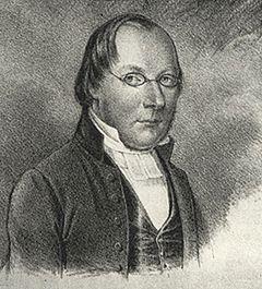G. H. Mellin.   Litografi fra 1846