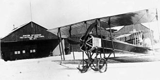 New York Air National Guard - A 1st Aero Company Gallaudet C-2 in 1915