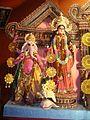 Ganesh & Lakshmi Barisha Sarbojanin 2010 Arnab Dutta.JPG