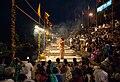 Ganga aarti at Dasaswamedh Ghat, Varanasi 05.jpg