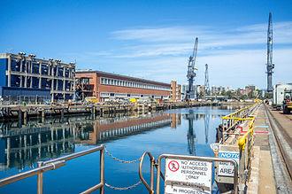 HMAS Kuttabul (naval base) - Image: Garden Island, New South Wales (2)