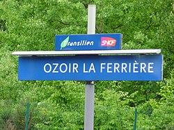 Estación de Ozoir-la-Ferrière