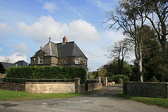 Monkleigh - Gatehouse to the now demolished Annery estate