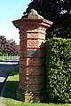 Gatepost at The Oratory School - geograph.org.uk - 1005592.jpg