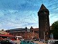 Gdańsk Główne Miasto, wieża Jacek i Hala Targowa - panoramio.jpg