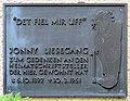 Gedenktafel Afrikanische Str 146c (Wedd) Jonny Liesegang.JPG