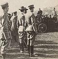 Generał Rajmund Baczyński przemawia do legionistów (1914).jpg
