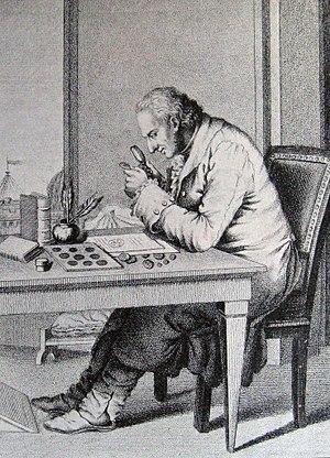 George Zoëga - Georg Zoëga tegnet af Sargent-Marceau