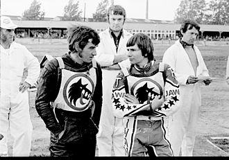 Wolverhampton Wolves - George Hunter with Gary Peterson