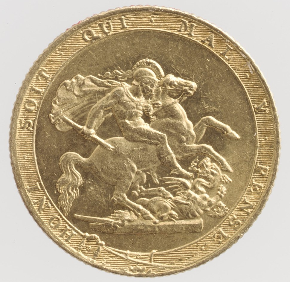 George III sovereign MET DP100392