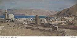 George Lambert. Tiberias. 1919.JPG