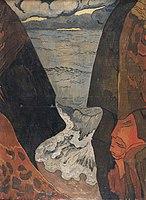 Georges Lacombe, Vorhor vague grise 1892.jpg
