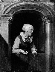 Old Woman at a Half-door
