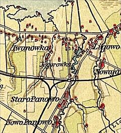 German Ligovo map of 1900s.jpg
