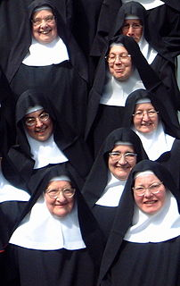Nun Member of a religious community of women