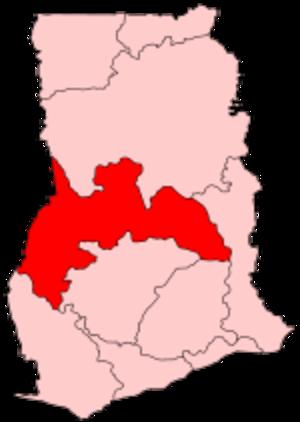 Brong-Ahafo Region - Image: Ghana Brong Ahafo