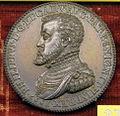 Giampaolo poggini, Filippo II di spagna, argento.JPG