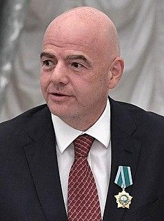 Gianni Infantino Swiss-Italian businessman