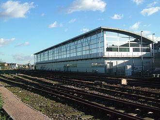 Gillingham, Kent - Gillingham Railway Depot