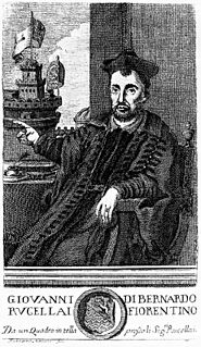Giovanni di Bernardo Rucellai Renaissance humanist, grandson of Giovanni di Paolo Rucellai