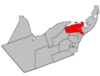 Caraquet Parish, New Brunswick Parish in New Brunswick, Canada