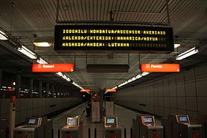 Gobela (Metro Bilbao) - Image: Gobela (8386655817)