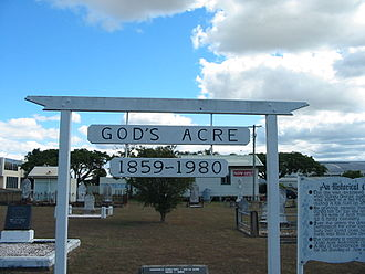 God's Acre Cemetery - God's Acre Cemetery, 2005